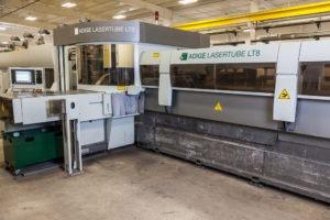 PA laser cutting shop