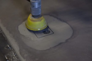 PA water jet cutting service in action