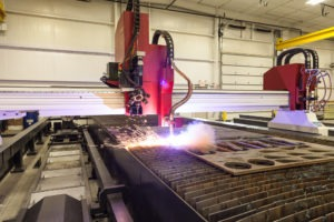 PA plasma cutting service in action